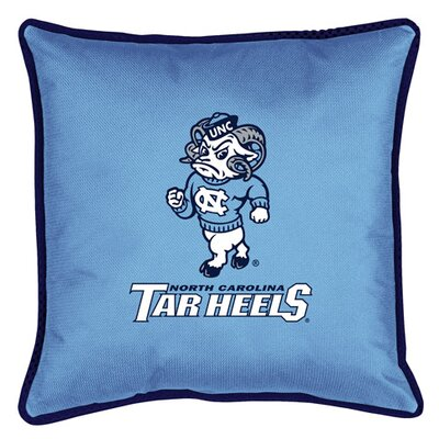 NCAA North Carolina Sidelines Throw Pillow