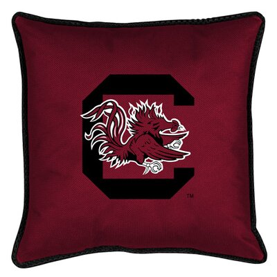 NCAA Sidelines Throw Pillow NCAA Team: South Carolina