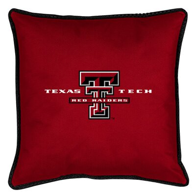 NCAA Texas Tech Sidelines Throw Pillow