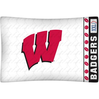 NCAA Pillow case NCAA Team: Wisconsin