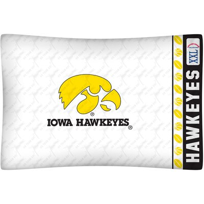 NCAA Iowa Pillowcase
