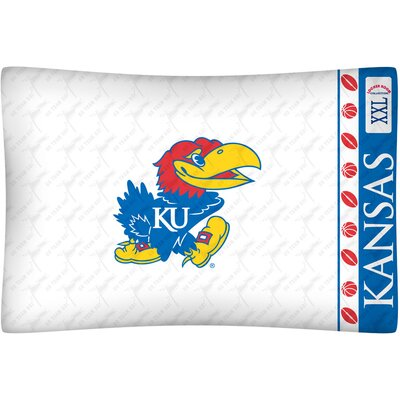 NCAA Kansas Pillowcase