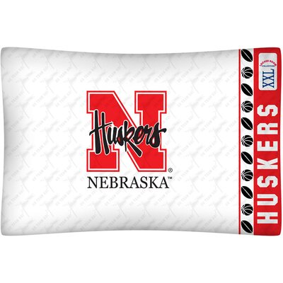 NCAA Nebraska Pillowcase
