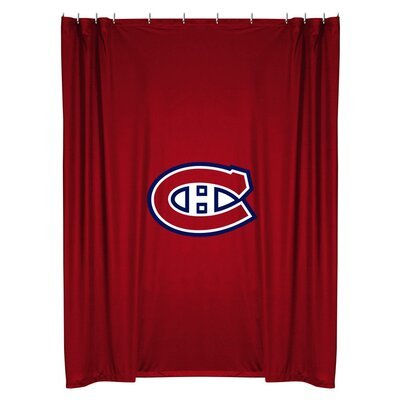 NHL Shower Curtain NHL Team: Montreal Canadiens