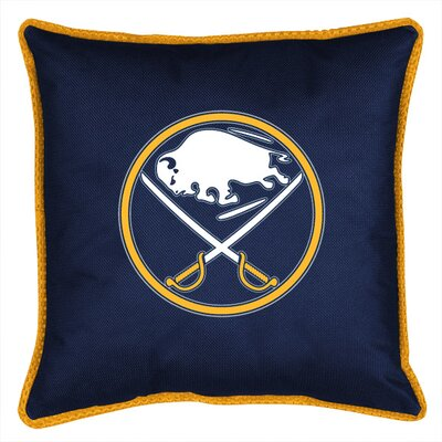 NHL Buffalo Sabres Sidelines Throw Pillow