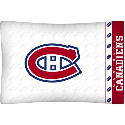 NHL Montreal Canadiens Pillowcase