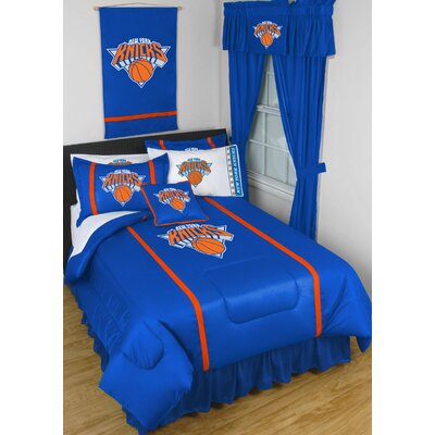 NBA Bed Skirt Size: Full, Team: New York Knicks