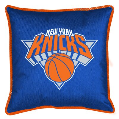 NBA Sidelines Throw Pillow NBA Team: New York Knicks
