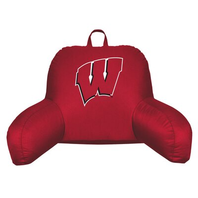 NCAA Wisconsin Bed Rest Pillow