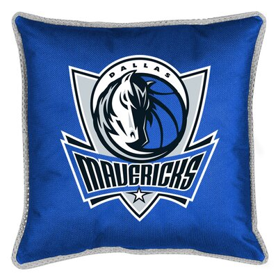 NBA Sidelines Throw Pillow NBA Team: Dallas Mavericks