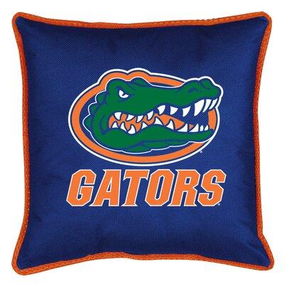 NCAA Sidelines Throw Pillow NCAA Team: Florida Gators