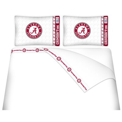NCAA Alabama Sheet Set Size: Twin