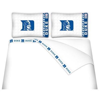 NCAA Duke Blue Devils Sheet Set Size: Queen