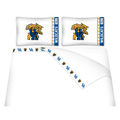 NCAA Kentucky Wildcats Sheet Set Size: Queen