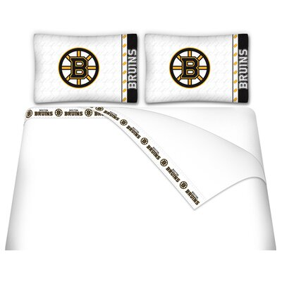 NHL Boston Bruins Sheet Set Size: Full