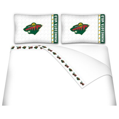 NHL Minnesota Wild Sheet Set Size: Full