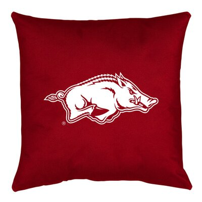 NCAA Arkansas Throw Pillow