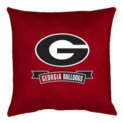NCAA Georgia Throw Pillow