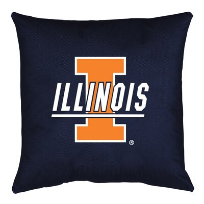NCAA Illinois Throw Pillow