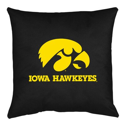NCAA Iowa Throw Pillow