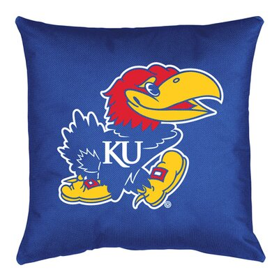 NCAA Kansas Throw Pillow