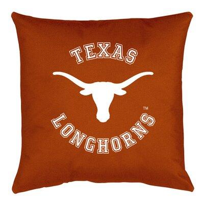 NCAA Texas Throw Pillow