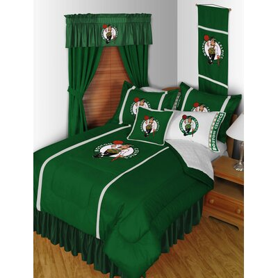 NBA Bed Skirt Size: Queen, Team: Boston Celtics