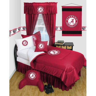 NCAA Alabama Bed Skirt Size: Full