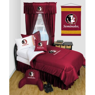 NCAA Florida State Bed Skirt Size: Full