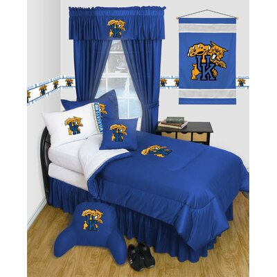 NCAA Kentucky Bed Skirt Size: Twin