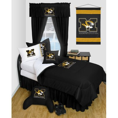 NCAA Missouri Bed Skirt Size: Full