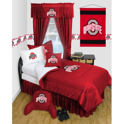 NCAA Ohio State Bed Skirt Size: Twin