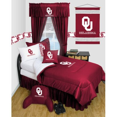 NCAA Oklahoma Bed Skirt Size: Queen