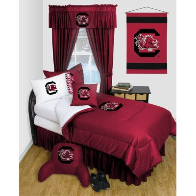 NCAA South Carolina Bed Skirt Size: Full