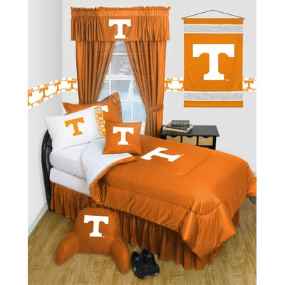 NCAA Tennessee Bed Skirt Size: Full