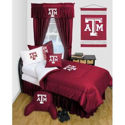 NCAA Texas A&M Bed Skirt Size: Full