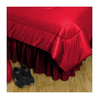 NBA Chicago Bulls Bed Skirt Size: Queen