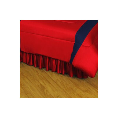 NHL Montreal Canadiens Polyester Jersey Bed Skirt Size: Full