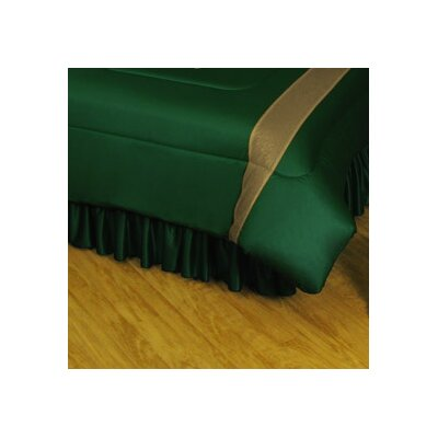 NHL Minnesota Wild Polyester Jersey Bed Skirt Size: Full