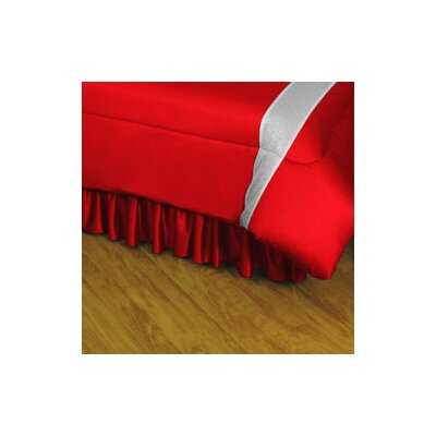 NHL Detroit Red Wings Polyester Jersey Bed Skirt Size: Queen
