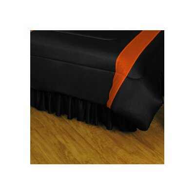 NHL Philadelphia Flyers Polyester Jersey Bed Skirt Size: Full