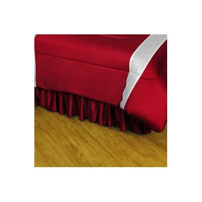 NHL Colorado Avalanche Polyester Jersey Bed Skirt Size: Twin