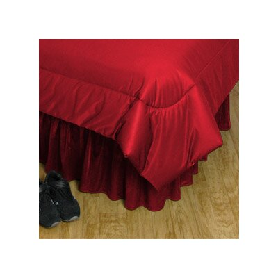 NCAA Wisconsin Bed Skirt Size: Full
