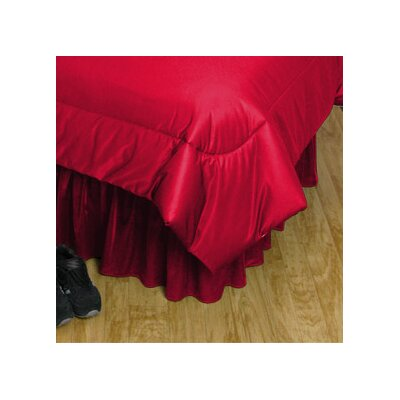 NCAA Georgia Bed Skirt Size: Queen