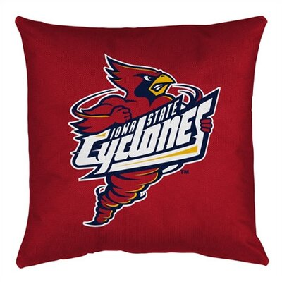 NCAA Iowa State Throw Pillow