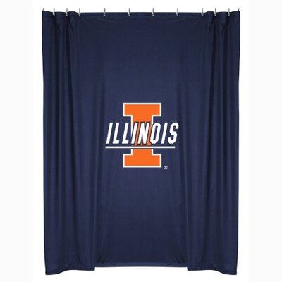 NCAA Illinois Shower Curtain