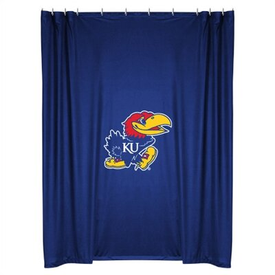 NCAA Kansas Shower Curtain