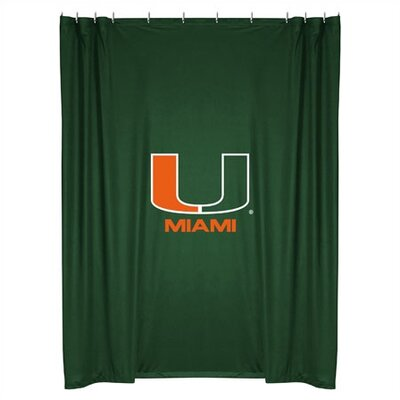 NCAA Shower Curtain NCAA Team: Miami