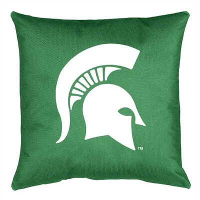 NCAA Michigan State Throw Pillow