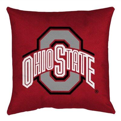 NCAA Ohio State Throw Pillow